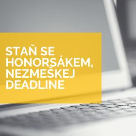 Už máte podanou přihlášku? Deadline se blíží /25.5./