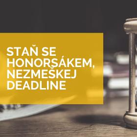 Chop se šance – Odliš se! Deadline přihlášek se blíží /do 10.1./
